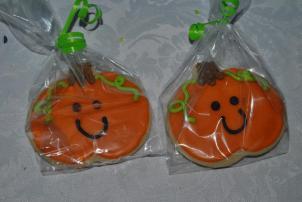 Pumpkin Run Cookies