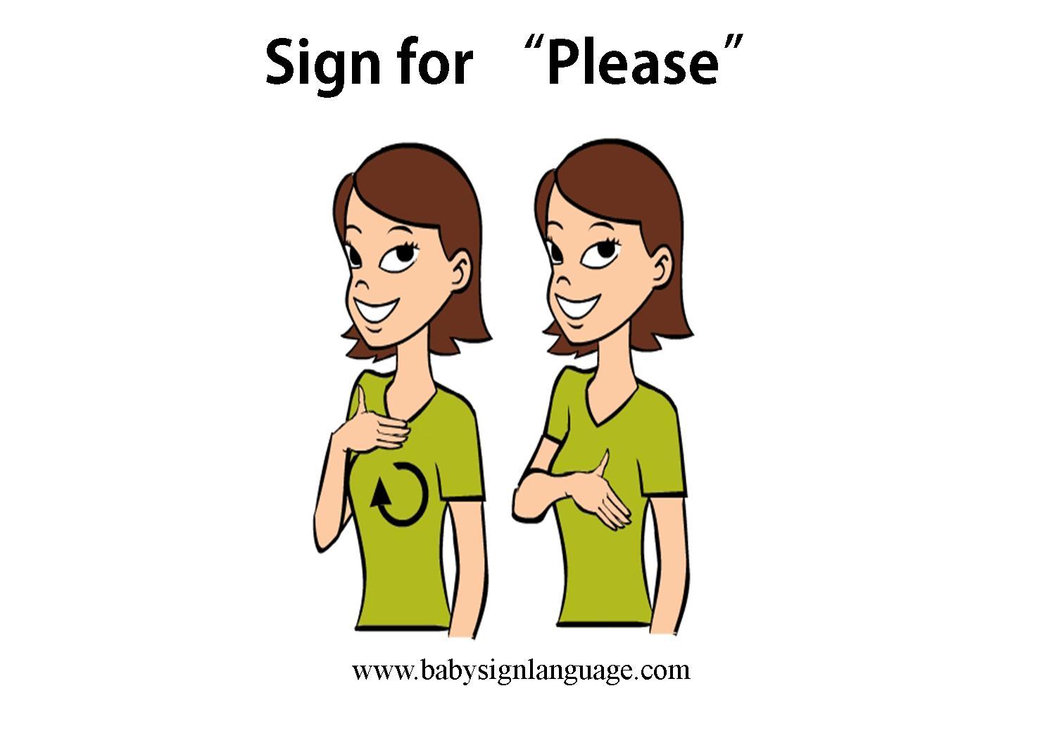 Please Sign Language